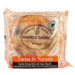 Orange Torta de Aceite (Spanish Biscuits)